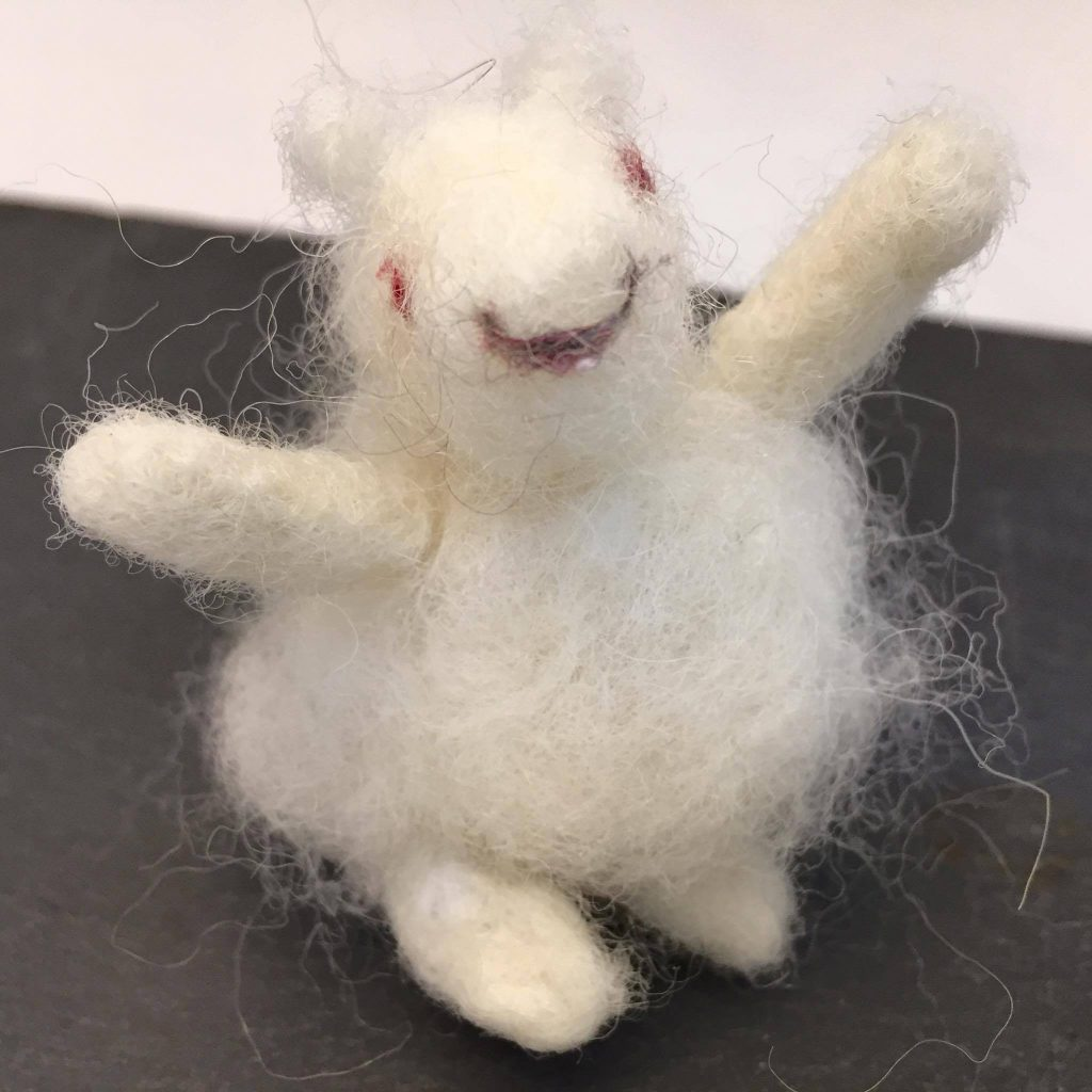 1) Beautifully felted sheeeeep!