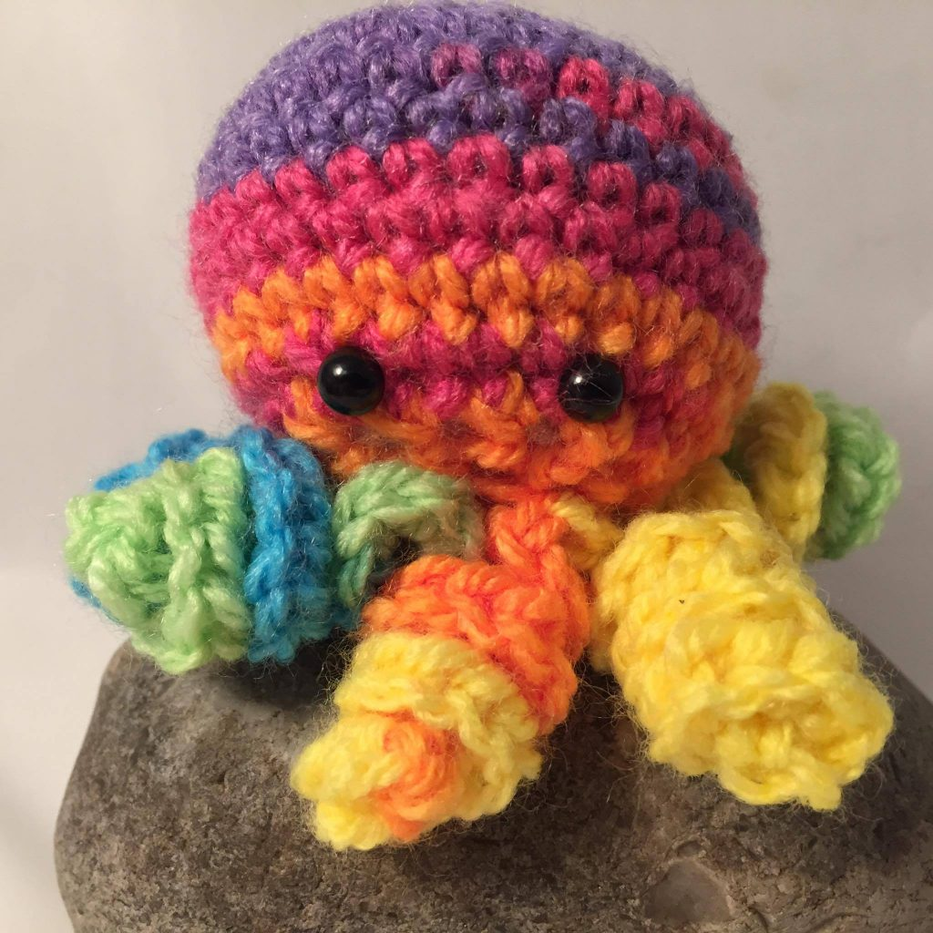 106)  Rainbow octopus
