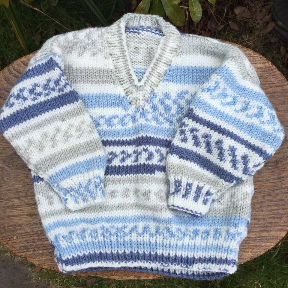 8ce44e49c Item 233) Stunningly beautiful. Newborn baby jumper knitted in ...